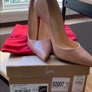 Louboutin So Kate 120 Patent heels